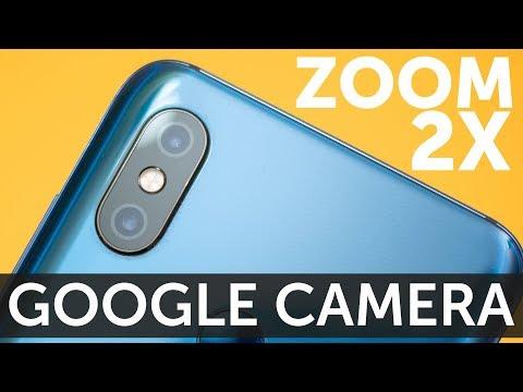 Xiaomi Mi 8 2X зум в Google Camera HDR примеры фото и видео