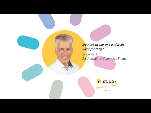 Photovoltaik Botschafter - Stefan Kleck