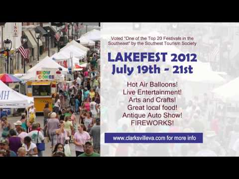 Lakefest Promo - Clarksville Virginia
