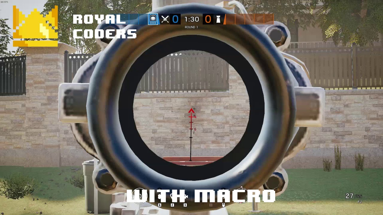 Rainbow Six Siege Macro No Recoil And More