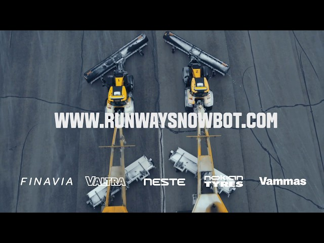 The Runway Snowbot - The Story Behind