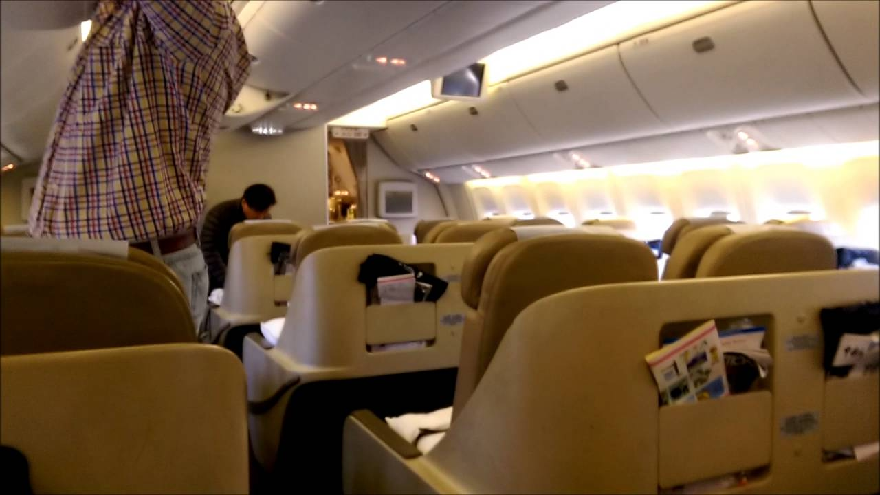 Mu 592 Chinaeastern Airlines Svo Pvg Business Class