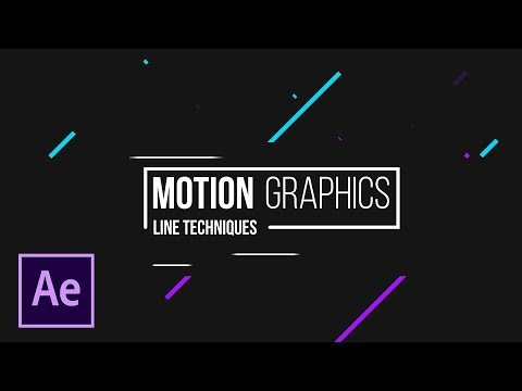 4 Line Shape Motion Graphics Tricks For Titles in After Effects