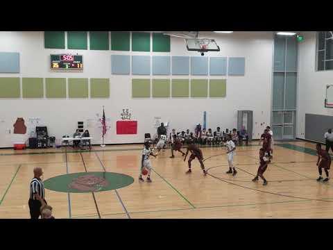 Hesse vs Hubert Middle school basketball 1-16-2019(7)