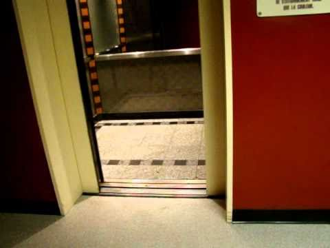 OTIS Traction Elevators @ Crowne Plaza Hotel Ottawa Parking