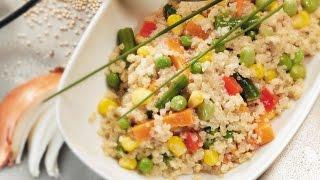 Rainbow Quinoa Pilaf | 2011 Milk Calendar Recipe