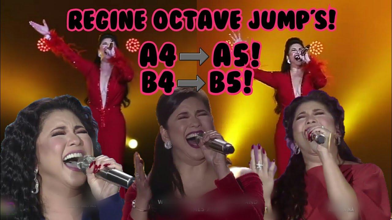 Regine Velasquez is the Queen of Octave Jumps!