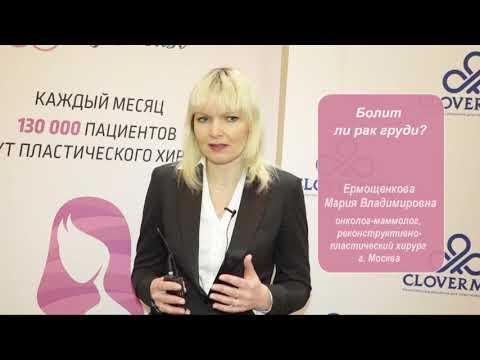 Мария Ермощенкова: болит ли рак груди?