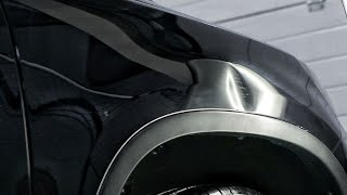 Ремонт крыла без покраски | Удаление вмятины методом PDR