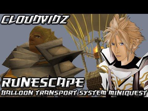 Runescape Balloon Transport System Mini-Quest Guide HD