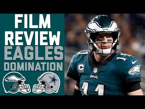 How the Eagles Halftime Adjustments Led to a Second Half Domination of Dallas | Film Review | NFLN