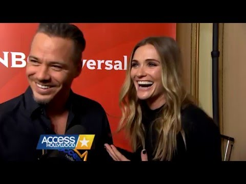 Michael Raymond James & Bre Blair   AccesHollywood