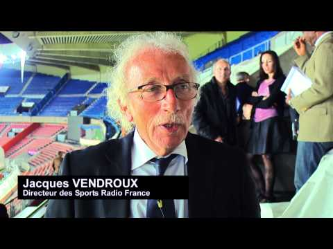 Remise du Prix du Sportif Français 2011 des auditeurs de Radio France à Teddy Riner