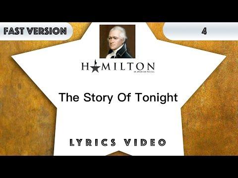4 Episode: Hamilton - The Story Of Tonight [Music Lyrics] - 3x Faster