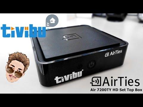 Tivibu Ev [IPTV] |AirTies Air 7200TY| HD Set Top Box