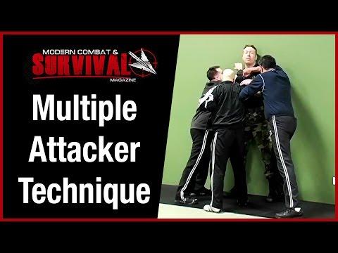 Self Defense Technique Against Multiple Attackers - Cornered