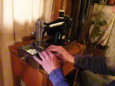 Powerful Premier Deluxe Model 1952 Japanese Made Sewing