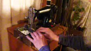 Powerful, Premier DeLuxe Model 1952 Japanese-made Sewing Machine Demo Video