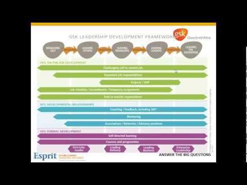 GlaxoSmithKline - Global MBA Programme 2013.10.04