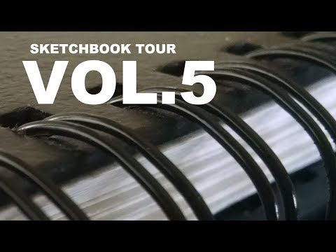 Sketchbook Tour [Vol.5]