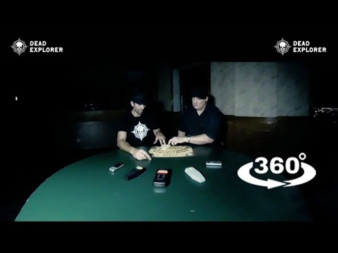 Scary 360 Video: Ouija Board Demon ZOZO? VR 4K