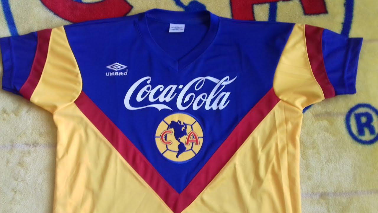 388a047f577 Jersey Retro Club América 1993 1994 (Réplica) - YouTube