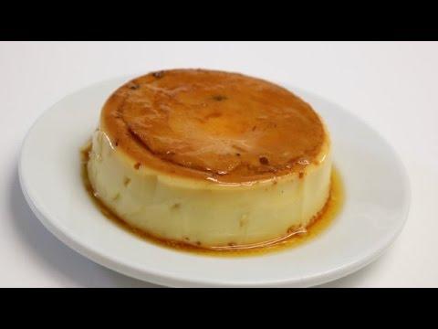 flan-vanille-ananas-caramel-facile-(cuisinerapide)