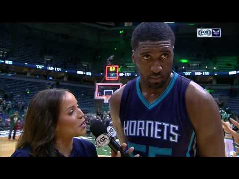 Roy Hibbert has awesome debut with Charlotte Hornets
