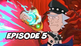 Rick and Morty Season 5 Episode 5 TOP 10 Breakdown, Easter Eggs and Things You Missed