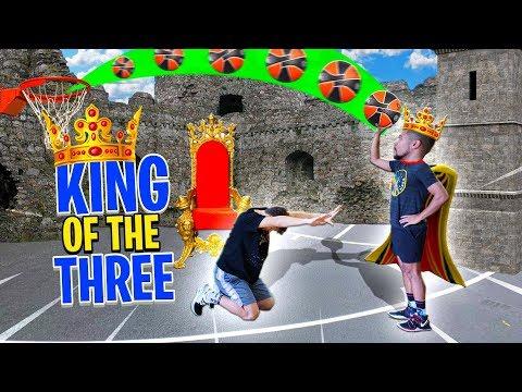 2HYPE KING OF THE THREE NBA Basketball Challenge !!
