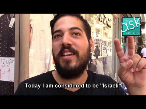 "Israelis: Do you see Arab-Israelis as ""second-class"" citizens?"