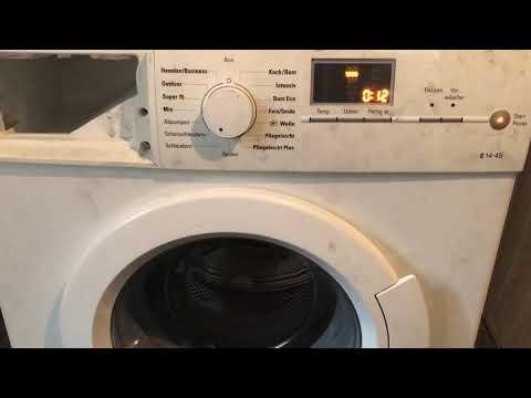 Siemens E14 4s Waschmaschine Trommel Dreht Sich Nicht