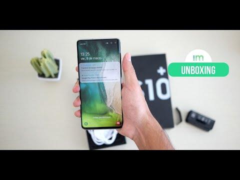 Samsung Galaxy S10+ | Unboxing en español