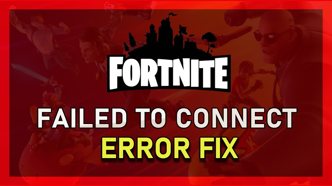 fortnite how to fix failed to connect to network backend services on windows 10 2019 youtube - failed to connect to backend services fortnite