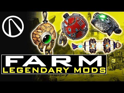 Borderlands 3 HOW TO FARM LEGENDARY CLASS MODS - How To Use Class MODS