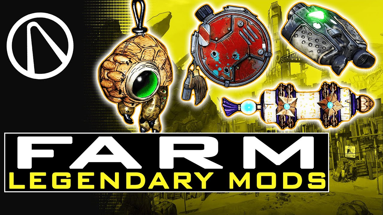 Borderlands 3 HOW TO FARM LEGENDARY CLASS MODS - How to Use Class MODS