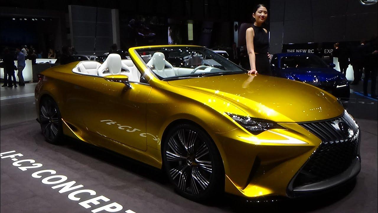 2016 Lexus Lf C2 Concept 2015 Geneva Motor Show Youtube