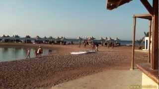 Хургада, пляж отеля Coral Beach Rotana Resort