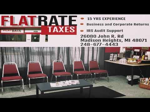 FLAT RATE TAX Service