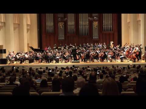 Baylor University Music Camp 2017 -  Full Symphony Orchestra plays Rachmaninoff Symphony No. 2