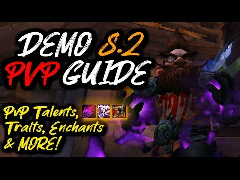 DEMONOLOGY Warlock 8.2 PvP Guide!