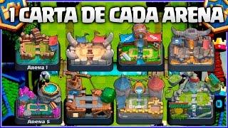 MAZO CON 1️⃣ CARTA DE CADA ARENA👑👑👑 - MAZO MIX #10 - CLASH ROYALE A POR TODAS - Español thumbnail
