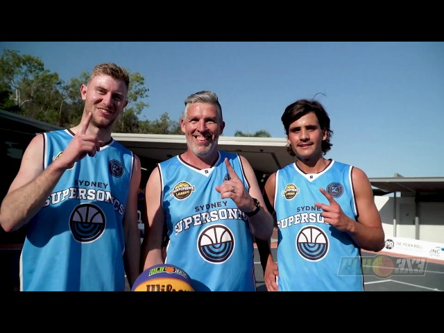 CLB3X3 Launches First Ever Half court at the Darwin Waterfront 2019
