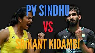 PV Sindhu VS Srikant Kidambi  |  Exhibition match highlights