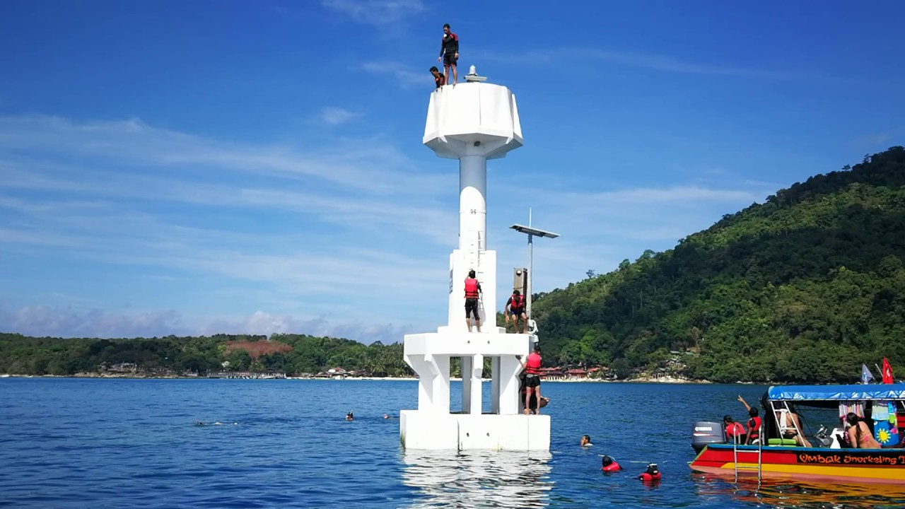 Perhentian Island - Lighthouse point - YouTube