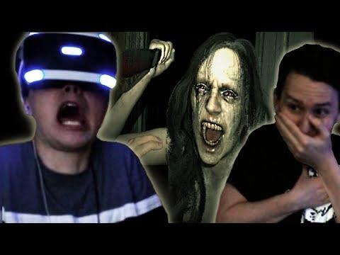 Dan experiences VR Horror - Resident Evil 7!
