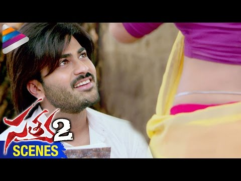 sharwanand-makes-fun-of-anaika-soti-|-satya-2-movie-scenes-|-telugu-filmnagar