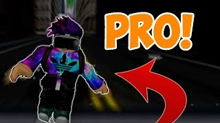 BECOMING A PRO AT PARKOUR IN ROBLOX!!