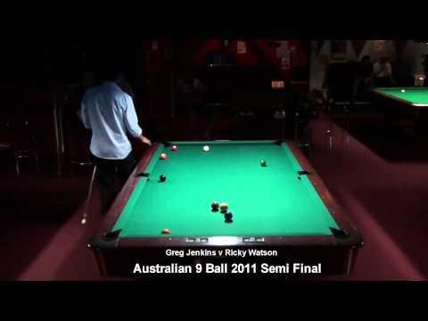 Australian 9 Ball 2011 Semi Ricky Watson v Greg Jenkins