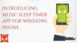 Windows phone app-Music sleep timer